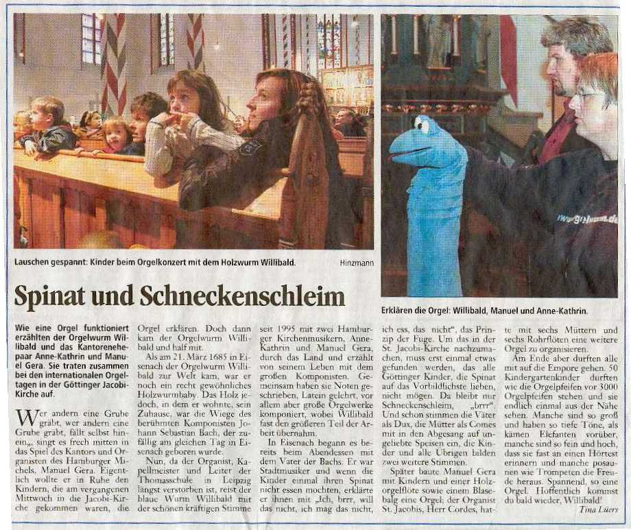 Willibald in der Presse